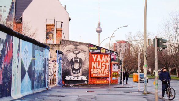 East Side Gallery on the Berlin Wall, Germany