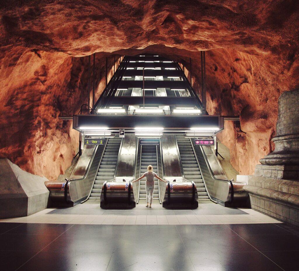 Stockholm Subway, Rådhuset Station