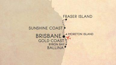Australia's east coast: 10 day road trip itinerary from Brisbane
