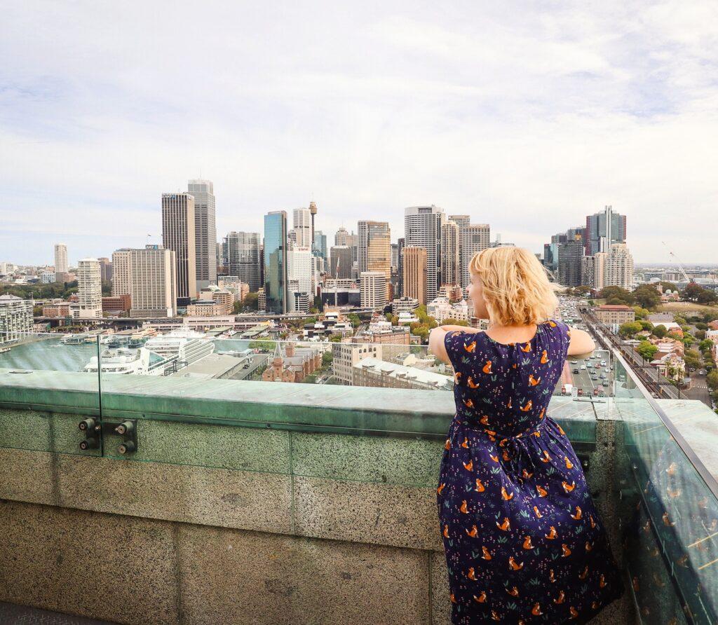 Pylon Lookout in Sydney, Australia