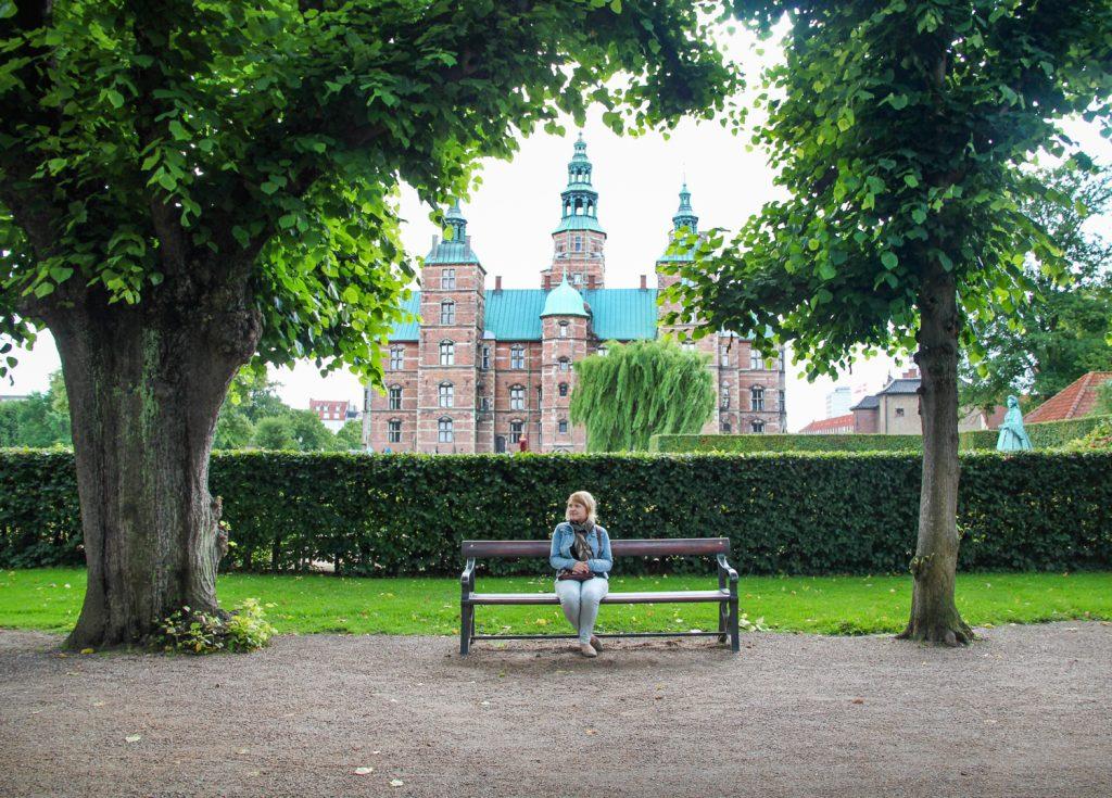 The gardens of Rosenborg Castle in Copenhagen