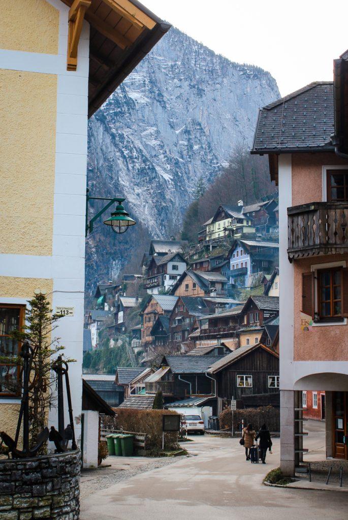 Walking through the streets of Hallstatt