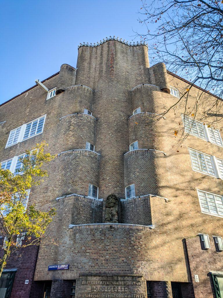 Amsterdam School architecture in De Pijp