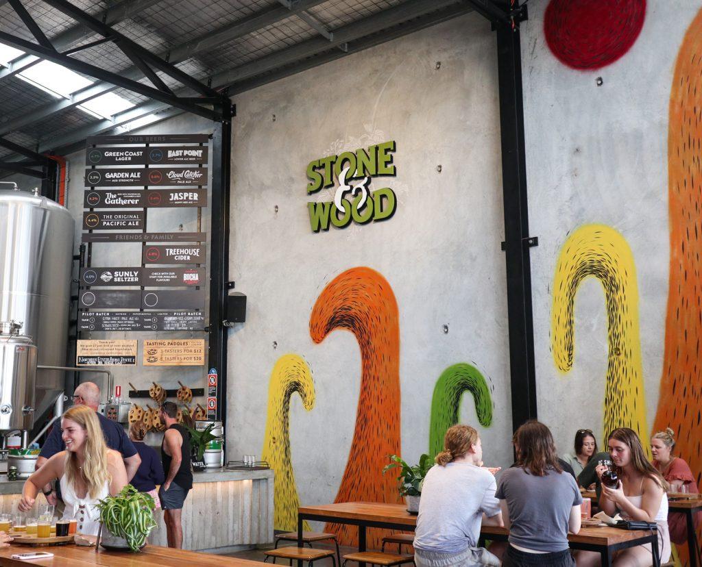 Stone & Wood Brewery in Byron Bay, NSW