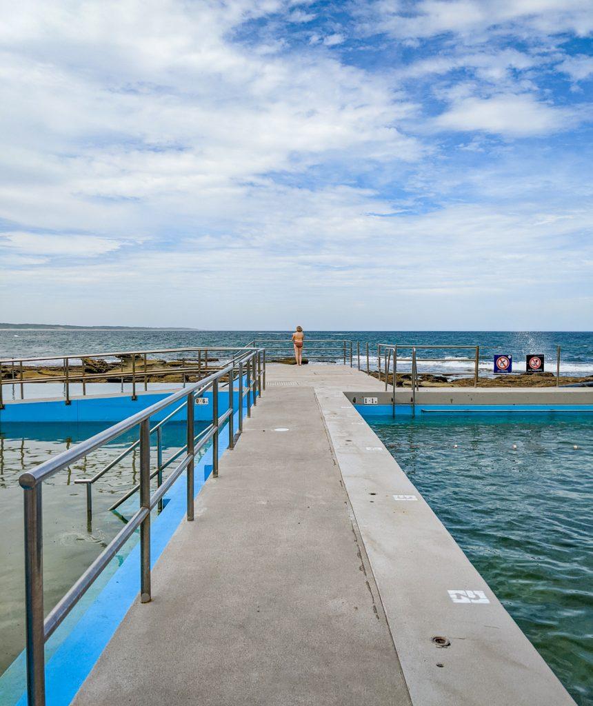 The Entrance Ocean Baths on the NSW Central Coast