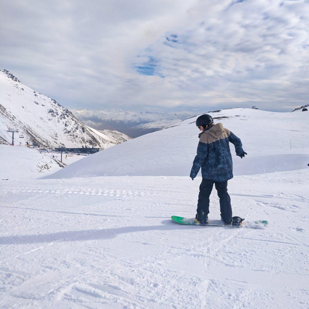 The Remarkables ski area in Queenstown, New Zealand